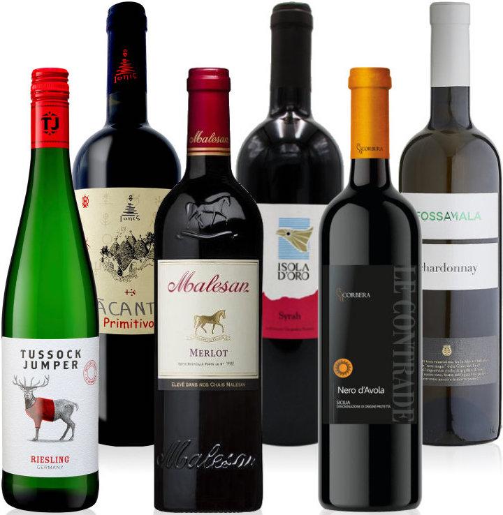 Flaske Vin